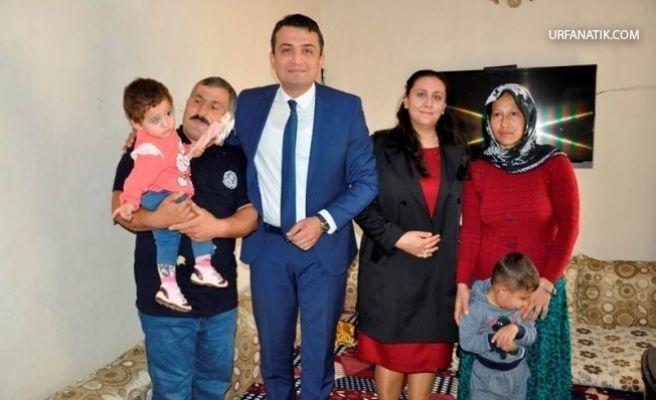 Küçük Büşra'nın İmdadına Kaymakam Keklik Yetişti