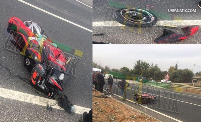 Şanlıurfa'da Trafik Kazası: 1 Ağır yaralı