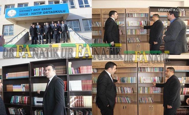 Siverek'te İmece Usulü İle Okullarına Kütüphane Kurdular