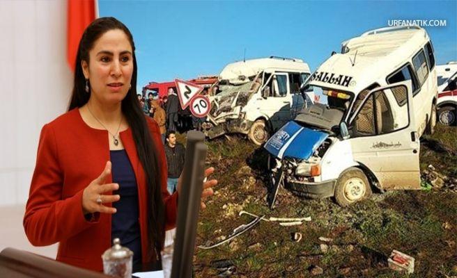 Milletvekili Sürücü, Ölüm yolunu Bakan Turhan'a Sordu