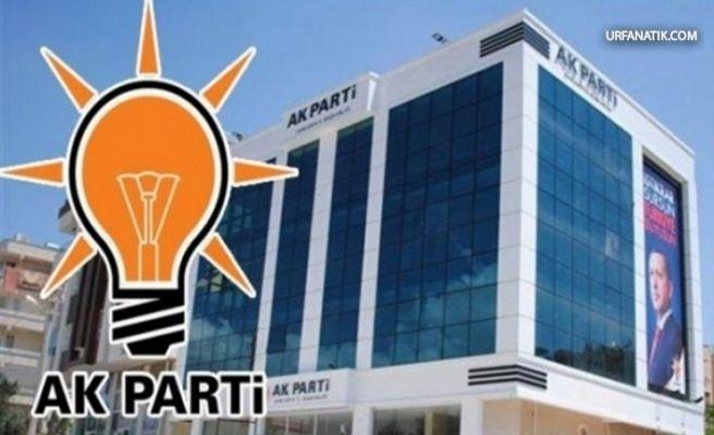 AK Parti Urfa İlçe Aday Tanıtım Toplantısı İptal Edildi