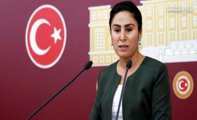 HDP Urfa Milletvekili Sürücü'ye Hapis İstemi