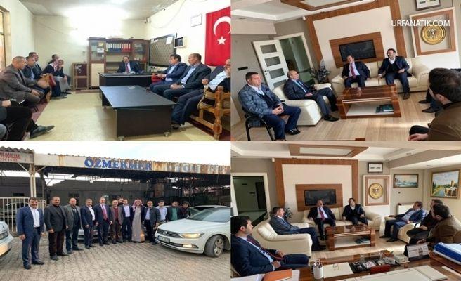 Milletvekili Özcan'dan Ak Başkan Adayı Kuş'a Destek