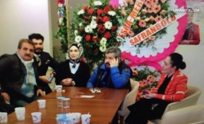 CHP Adayı Fatih Bucak, Essum Aslan'ı Ziyaret Etti