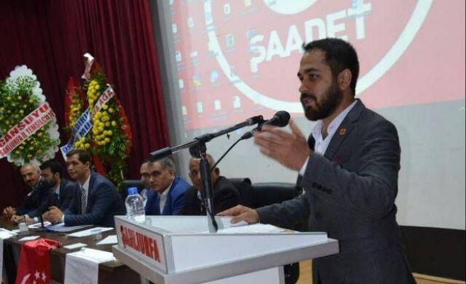 Saadet Partisi Karaköprü'de Yeni Dönem
