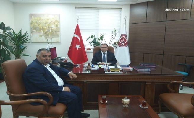 Başkan Gülebak'tan Başhekim Altay'a Ziyaret