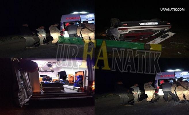 Suruç'ta Trafik Kazası:4 Yaralı