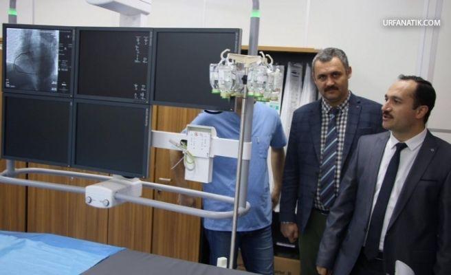Şanlıurfa Eğitim Araştırma Hastanesinde Anjiografi Ünitesi Açıldı