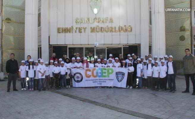 Urfa Emniyetinden Öğrencilere Tarihi ve Kültürel Gezi