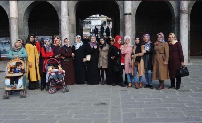 Gercüşlü kadınlara Şanlıurfa gezisi