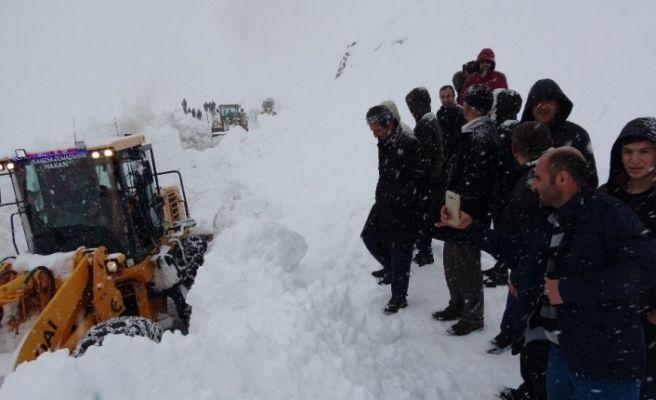 Van-Bahçesaray yolu ulaşıma açıldı, araçlara geçiş izni verilmiyor