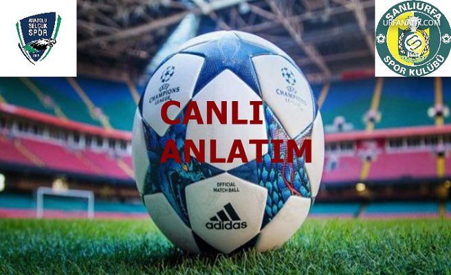 Konya Anadolu Selçukspor : 0 Şanlıurfaspor : 0