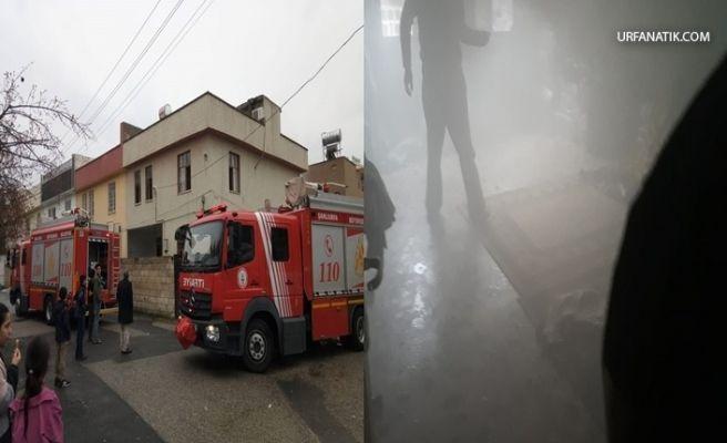 Urfa'da Çocukların Ateşle Oyunu Yangın İle Bitti