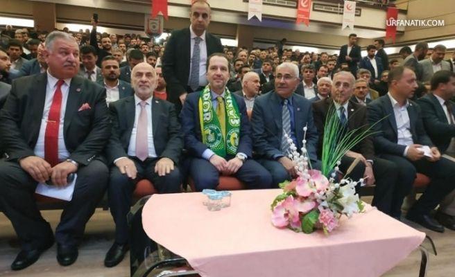 Yeniden Refah Partisi Genel Başkanı Erbakan Şanlıurfa'da