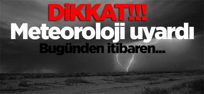Meteoroloji'den Kritik Uyarı! Kuvvetli Geliyor...