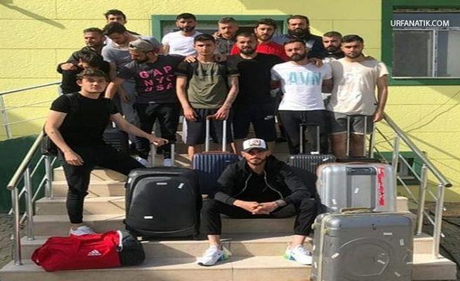 Şanlıurfaspor Futbolcuları Urfa'yı Terk Etti!