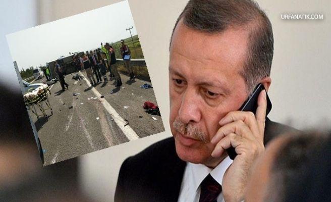 Başkan Erdoğan'dan Şanlıurfa'daki kaza ile ilgili taziye mesajı