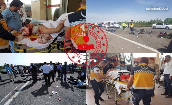 İçişleri Bakanlığından Urfa'da Feci Kaza İle İlgili Açıklama