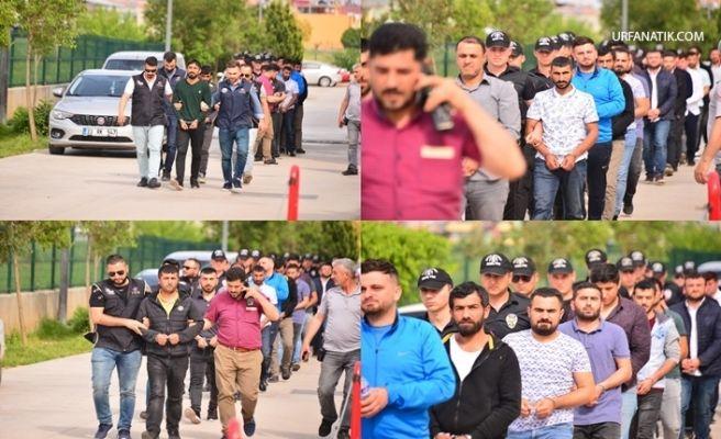 Adana ve Şanlıurfa'daki Terör Operasyonunda Gözaltına Alınan 24 Şahıs Adliyede
