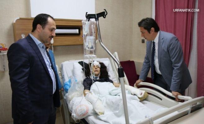 İl Sağlık Müdürü Kazazedeleri Ziyaret Etti