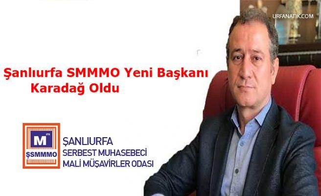 Şanlıurfa SMMMO Yeni Başkanı Karadağ Oldu