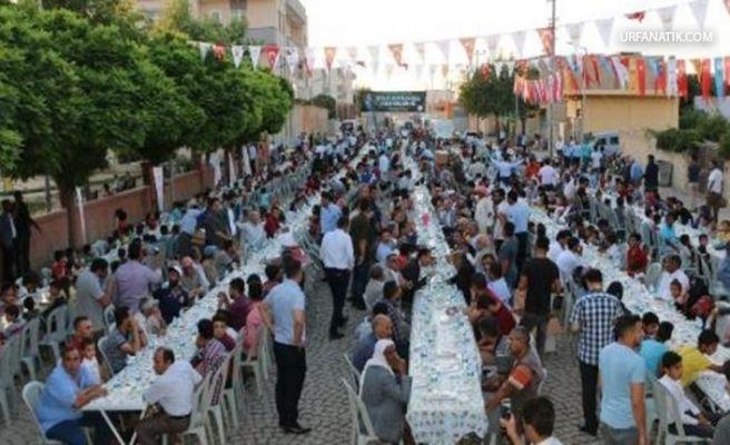 Urfa'da İlçe Belediyesi Toplu İftar Uygulamasına Son Verdi