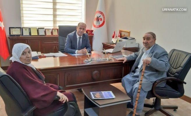 Şehit Ailesinden Başkan Yavuz'a Ziyaret