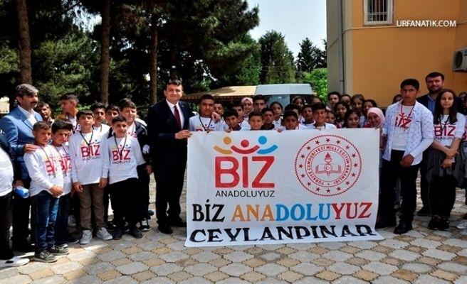 Şanlıurfalı Öğrenciler İstanbul'u Turladı