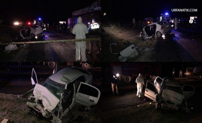 Polislerin Olduğu Araç Tırla Çarpıştı: 2 Ölü, 2 Yaralı
