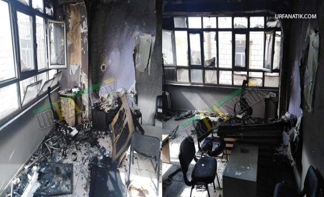 Şanlıurfa'da Bir İş Yerinde Korkutan Yangın