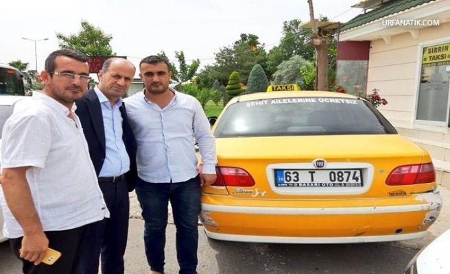 Şanlıurfa'da Taksici 'den Örnek Davranış