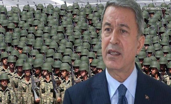 Bakan Akar'dan Flaş Yeni Askerlik Sistemi Açıklaması