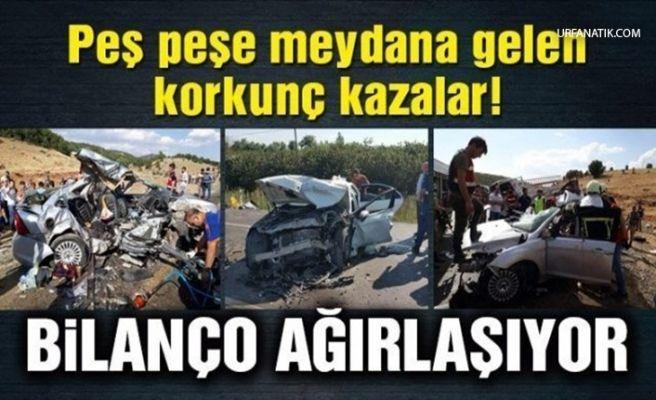 Bayram Tatilin İkinci Gününde Bilanço Ağırlaştı! 16 Ölü 130 Yaralı