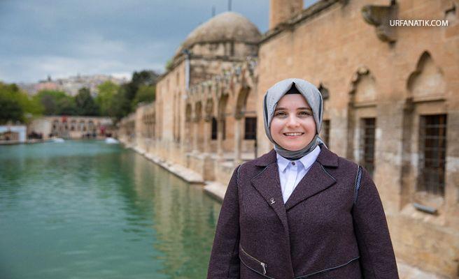 Şanlıurfa AK Parti Kadın Kolları Başkanı Güven'den  Bayram Mesajı