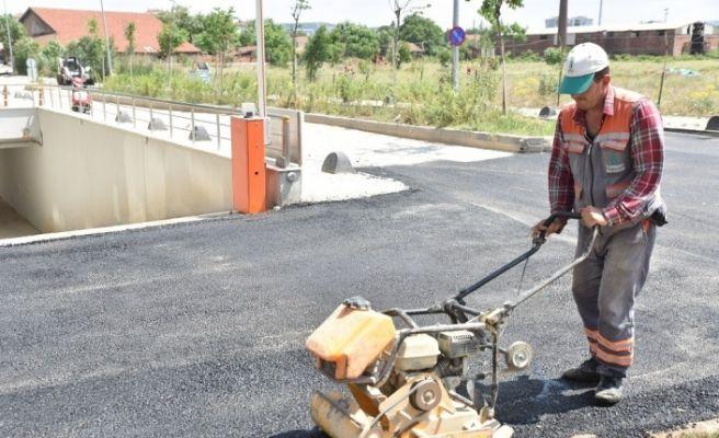 Tepebaşı Belediyesi Fen İşleri hız kesmiyor