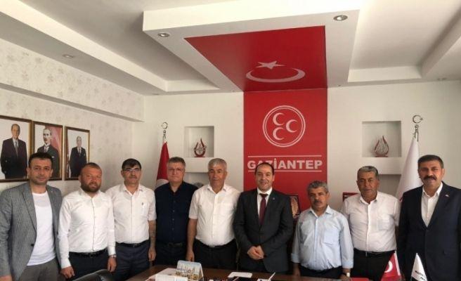 MHP Gaziantep İl Teşkilatından İstanbul çıkarması