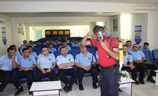 Şanlıurfa Cezaevi Personeline Yangın Eğitimi