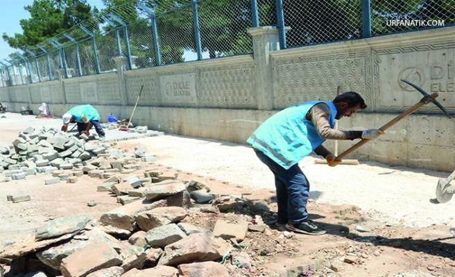 Eyyübiye Belediyesi'nde Hummalı Çalışma