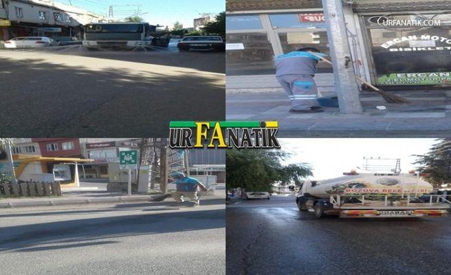 Bozova Belediyesinden Temizlik Çalışması