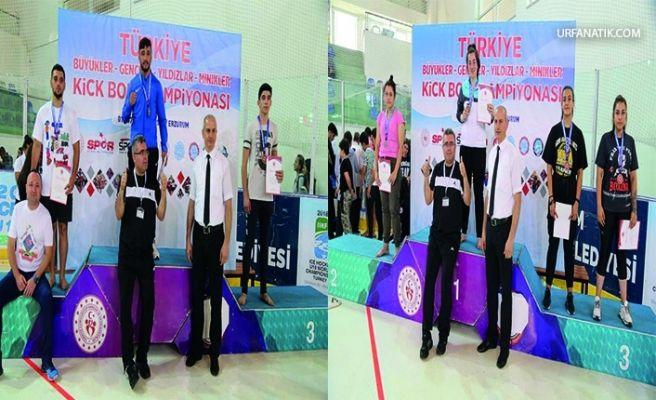 Şanlıurfalı Kıck Boksçular Şampiyon Olup Gururu Yaşattı!