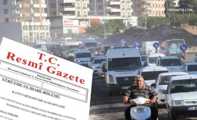 Trafikte Yeni Dönem! Resmi Gazete'de Yayımlandı
