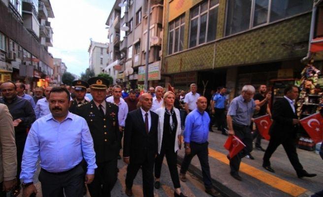 """Edirne'de """"15 Temmuz Milli Birlik Günü"""" etkinliği"""
