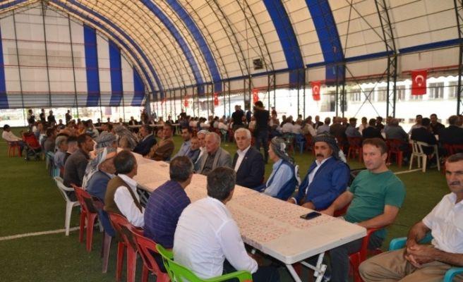 Kato Dağı eteklerinde 15 Temmuz şehitleri için Kürtçe mevlit okutuldu