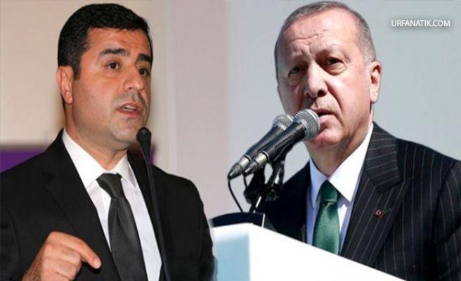 Demirtaş'tan Cumhurbaşkanı Erdoğan'a Önemli Çağrı!