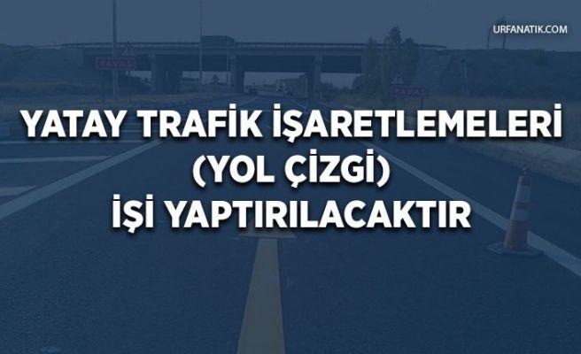 Yatay Trafik İşaretlemeleri (Yol Çizgi) İşi Yaptırılacaktır