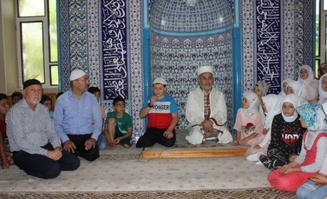 Erzincan'da Cami, Çocuk ve Aile Buluşması programı düzenlendi