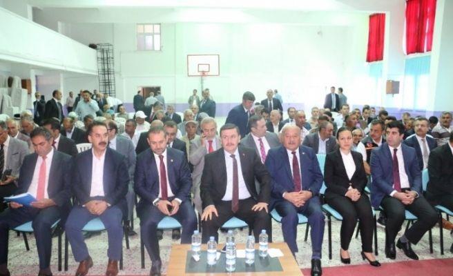 Erzincan'da muhtarlar toplantısı yapıldı