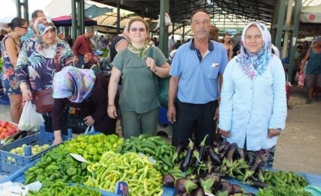 Tarım ilacı yerine sarımsak ve sabunlu su kullanarak organik tarım yaptılar