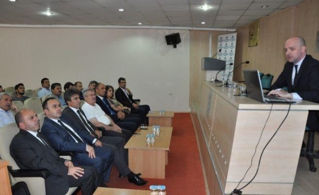 'Devlet Destekli Alacak Sigortası' bilgilendirme toplantısı yapıldı