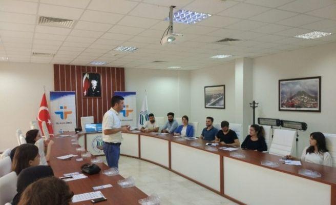 SUBÜ'lü öğrencilere iş başvuru eğitimi verildi